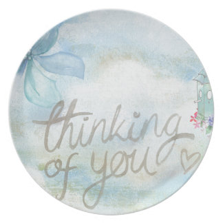 Thinking of you party plates