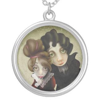 Thinking of you... round pendant necklace
