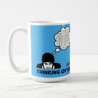 Thinking Of You - Rugby Mug