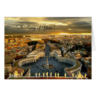 Thinking of You! St. Peter, Greeting Card