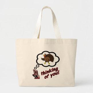 Thinking of You Turkey Canvas Bag