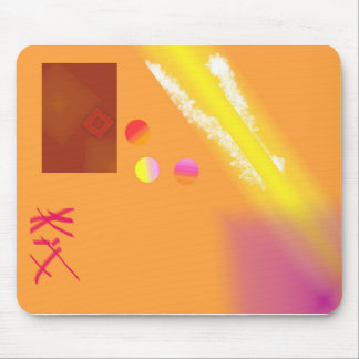 Thinking outside of the box mouse pad
