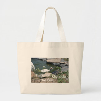 Thinking Outside the Box Canvas Bag