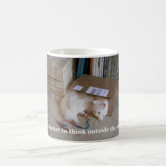 Thinking Outside the Box Coffee Mug