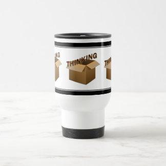 Thinking Outside The Box Coffee Mugs