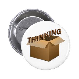 Thinking Outside The Box Pin