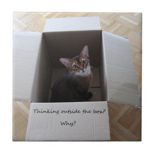 Thinking Outside the Box Tile