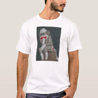 Thinking Thock Monkey T-Shirt