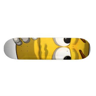 Thinking-toon-black Skate Board