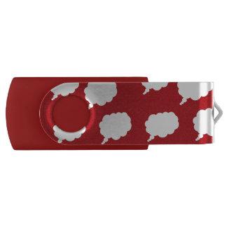 thinking USB 3.0 Flash Drive 16 GB Pink Swivel