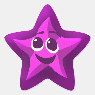 Thinkling Purple Star Stickers