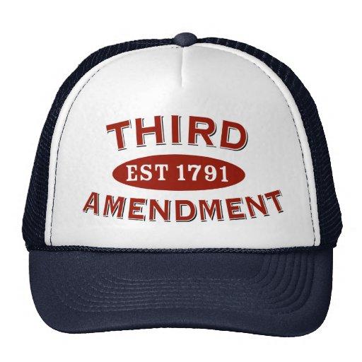 Third Amendment Est 1791 Trucker Hat