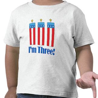 Third Birthday Firecracker Shirt