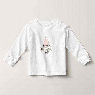 Third Birthday Girl T-Shirt