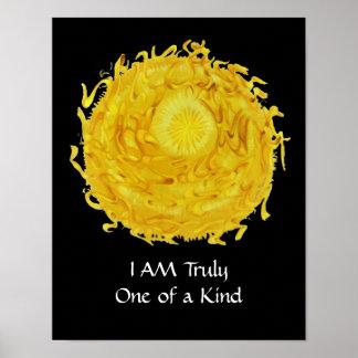 Third Chakra Art: #3 :Self Esteem Poster