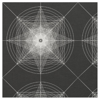 Third Dimensional Sacred Geometry Fabric