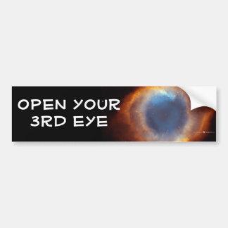 third eye bumper sticker