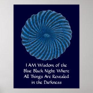 Third Eye Chakra Art #3 - Intuition Poster