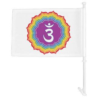 Third Eye chakra Car Flag