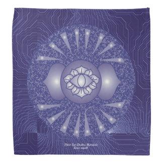 Third Eye Chakra Mandala Bandana