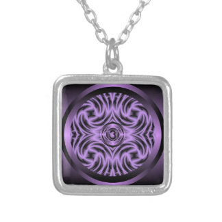 Third Eye Chakra Mandala Necklace