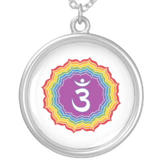 Third Eye chakra Silver Plated Necklace