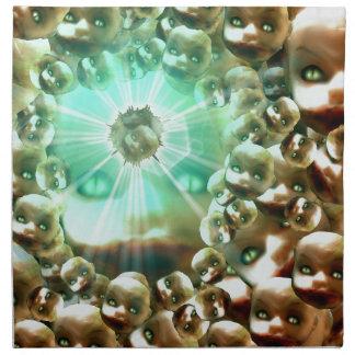 Third eye Dolly Napkin