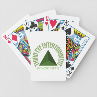 Third eye entertainment since 1973 bicycle playing cards