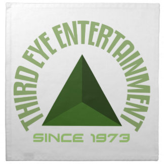 Third eye entertainment since 1973 napkin