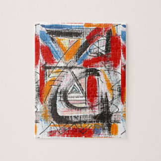 Third Eye-Hand Painted Abstract Art Jigsaw Puzzle
