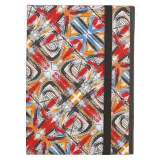 Third Eye-Hand Painted Abstract Brushstrokes iPad Air Covers