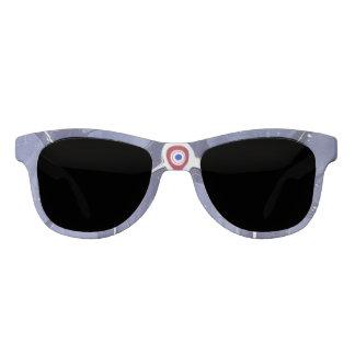 Third eye marbled sunglasses