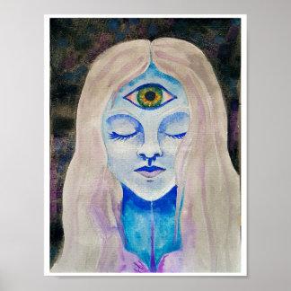 Third eye poster