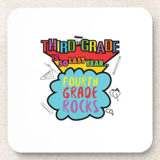 Third Grade is So Last Year  3rd Grade Funny Gifts Coaster