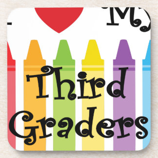 Third grade teacher coaster