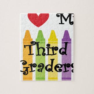 Third grade teacher jigsaw puzzle