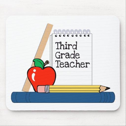 Third Grade Teacher (Notebook) Mouse Pad