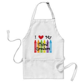Third grade teacher standard apron