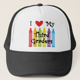 Third grade teacher trucker hat