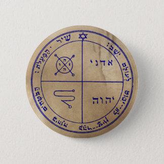 Third Pentacle of Jupiter 6 Cm Round Badge