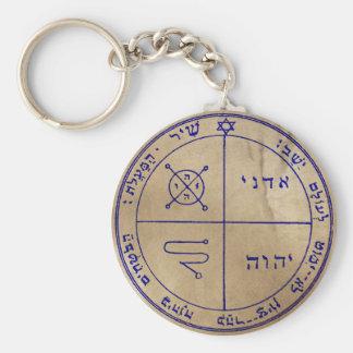 Third Pentacle of Jupiter Key Ring