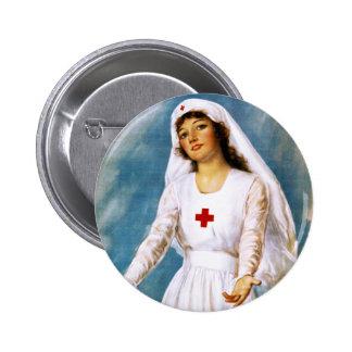 Third Red Cross Roll Call 1918 Button