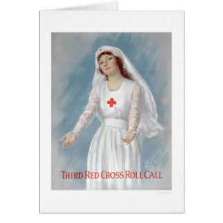 Third Red Cross Roll Call (US00255) Card