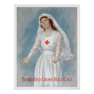 Third Red Cross Roll Call (US00255) Poster