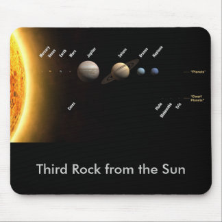 Third Rock from the Sun Mouse Pad