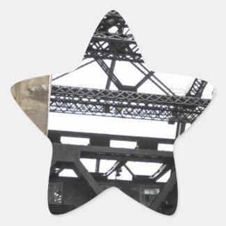 Third Street Bridge Vertical Star Sticker