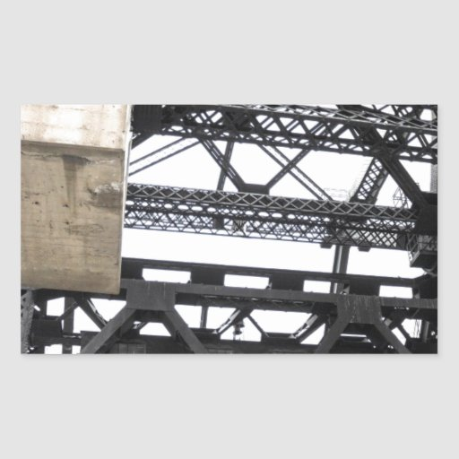 Third Street Bridge Vertical Stickers