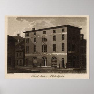 Third Street in Philadelphia Print