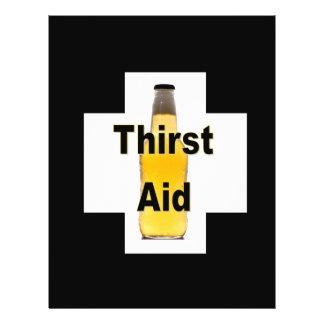 Thirst Aid Flyer