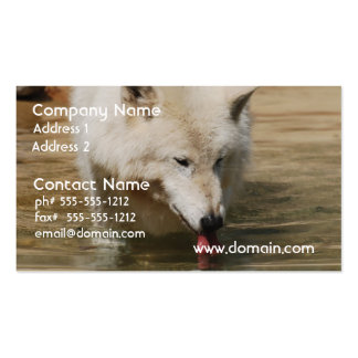 Thirsty Wolf Business Card